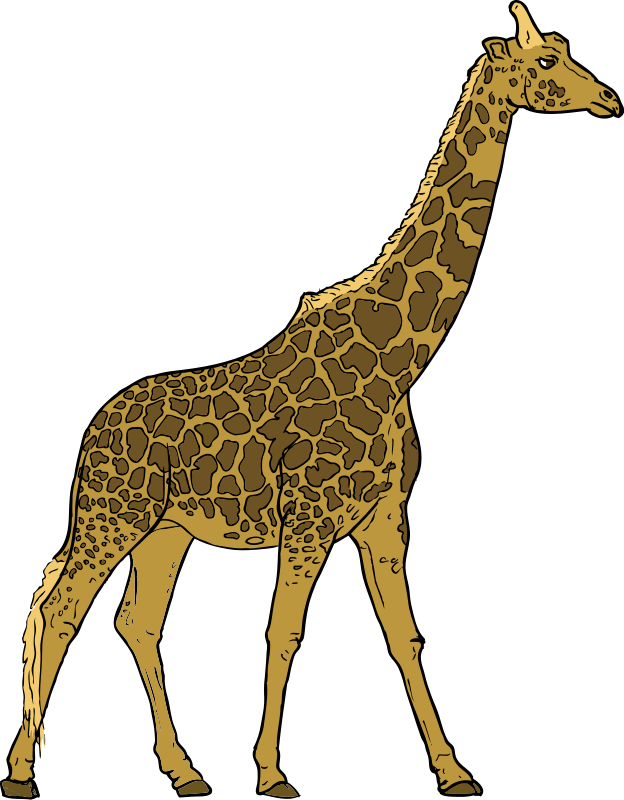 Walking animals clipart clipart free stock Giraffe Walking Clip Art | Clipart Panda - Free Clipart Images clipart free stock