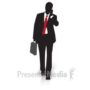 Walking businessman clipart clipart transparent Presenter Media - PowerPoint Templates, 3D Animations and ... clipart transparent