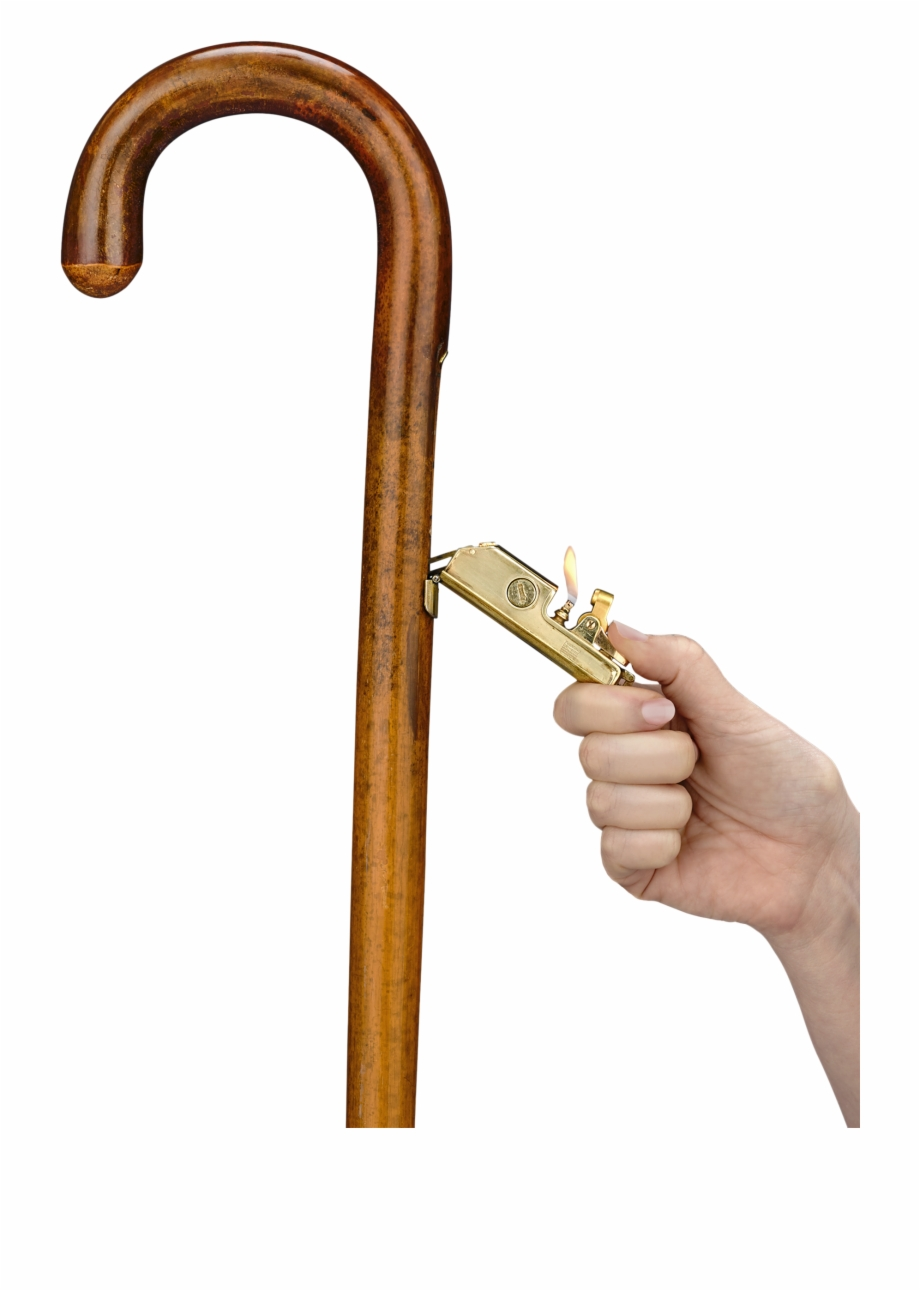 Walking cane clipart circle jpg royalty free download Cigar Lighter Cane - Antique Walking Canes Free PNG Images ... jpg royalty free download