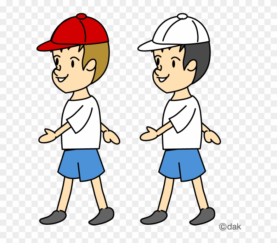 Walking clipart pictures clip art transparent download Multi Sport Clipart - Two Boys Walking Clipart - Png ... clip art transparent download