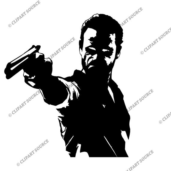 Walking dead images clipart picture black and white stock Walking dead clipart 2 » Clipart Station picture black and white stock