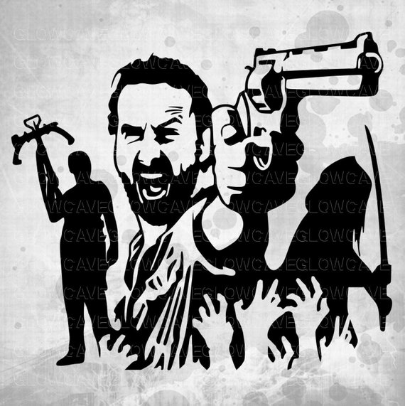 Walking dead location clipart clipart library stock Walking Dead Silhouettes svg, Dead Clip art, Zombie svg ... clipart library stock