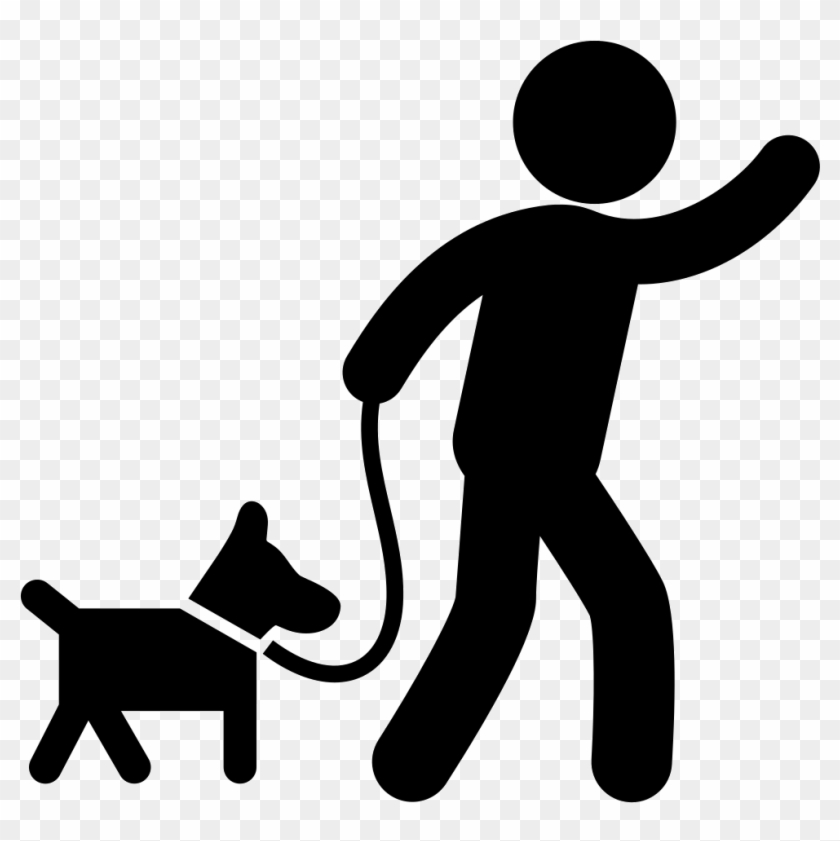 Walking dog clipart icon clip art royalty free download Dog Walking Png - Dog Walk Icon Png, Transparent Png ... clip art royalty free download