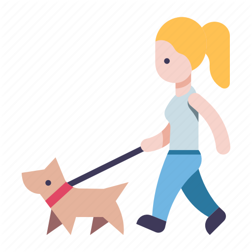 Walking dog clipart icon banner library library \'City Flat\' by Iconfinder banner library library