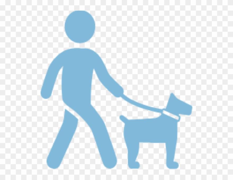 Walking dog clipart icon svg freeuse stock Dog Walking - Walk The Dog Icon Clipart (#1260626) - PinClipart svg freeuse stock