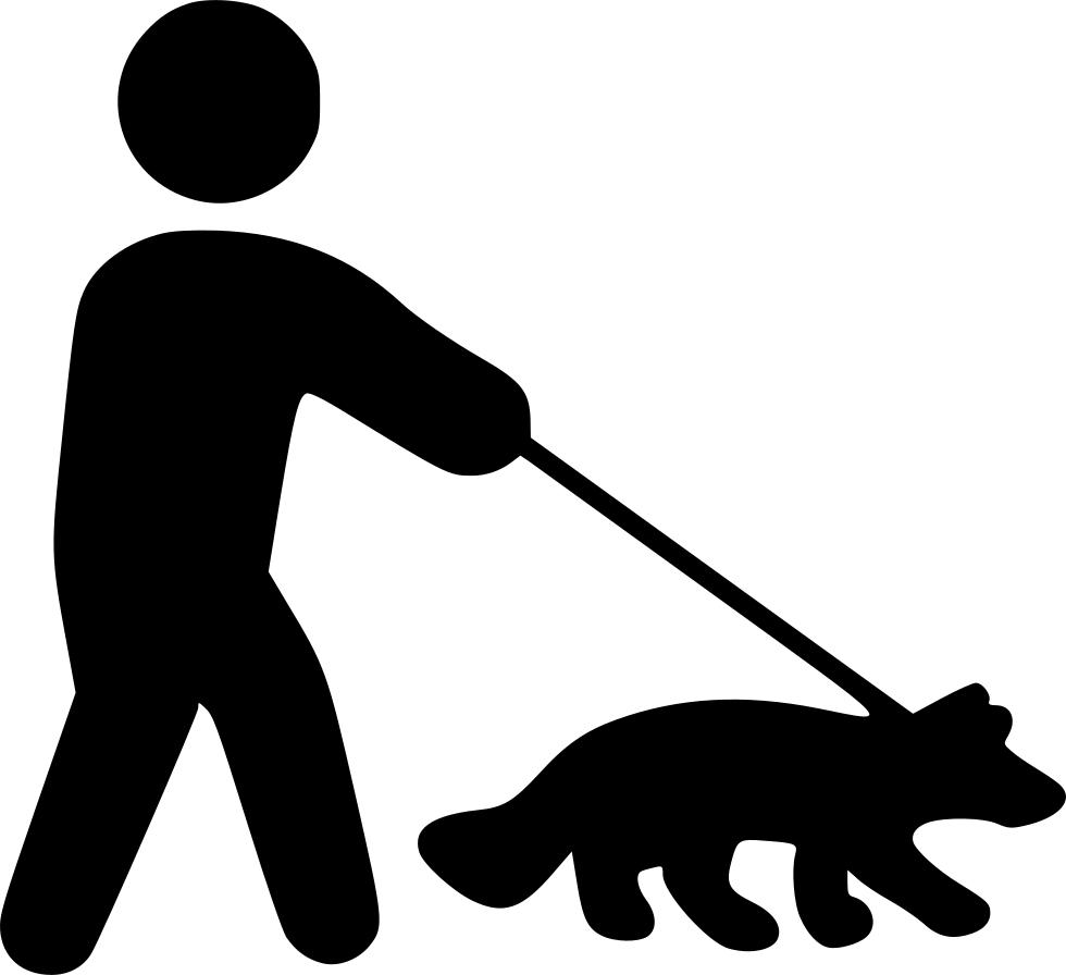 Walking dog clipart icon image freeuse stock Walking Dog Svg Png Icon Free Download (#546555 ... image freeuse stock