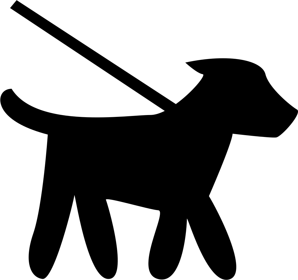 Walking dog clipart icon picture library Walking Small Dog Pet Svg Png Icon Free Download (#74305 ... picture library