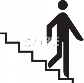 Walking down stairs clipart jpg black and white Stair Clipart   Free download best Stair Clipart on ... jpg black and white