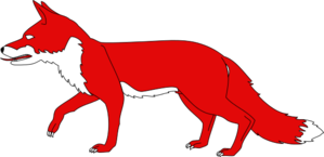 Walking fox clipart picture freeuse download Lg walking red fox clipart   Clipart Panda - Free Clipart Images picture freeuse download