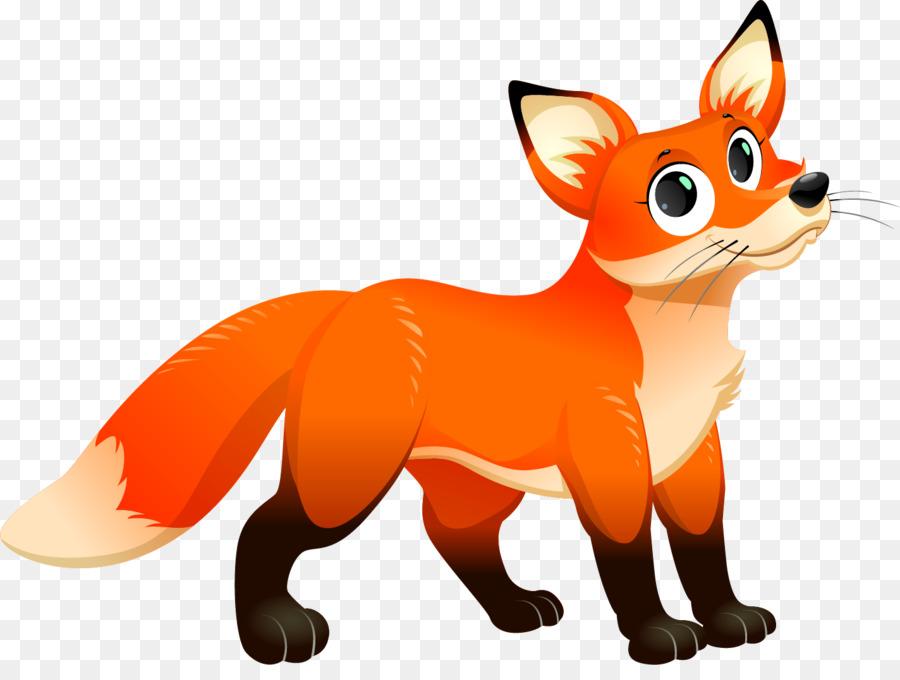 Walking fox clipart freeuse download Cartoon Fox Clip art - Walking fox png download - 1280*640 ... freeuse download
