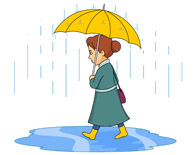 Walking in the rain clipart png black and white stock Search Results for puddle - Clip Art - Pictures - Graphics ... png black and white stock