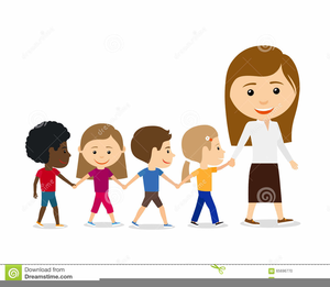 Walking line clipart jpg freeuse library Children Walking In Line Clipart   Free Images at Clker.com ... jpg freeuse library