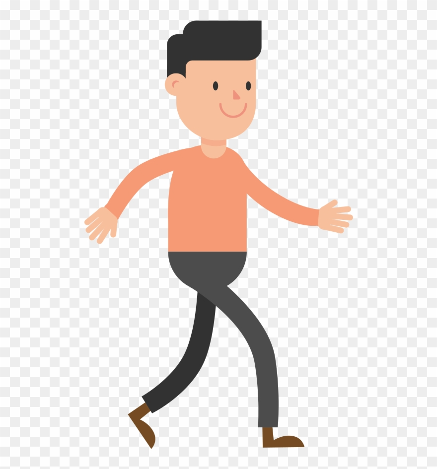 Walking man clipart picture royalty free stock Open - Walking Man Clipart (#452669) - PinClipart picture royalty free stock