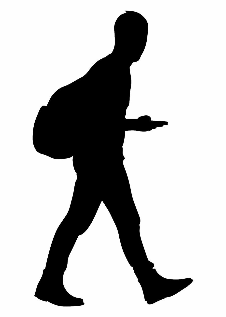 Walking man clipart image Man Walking Silhouette - Walking Man Silhouette Transparent ... image