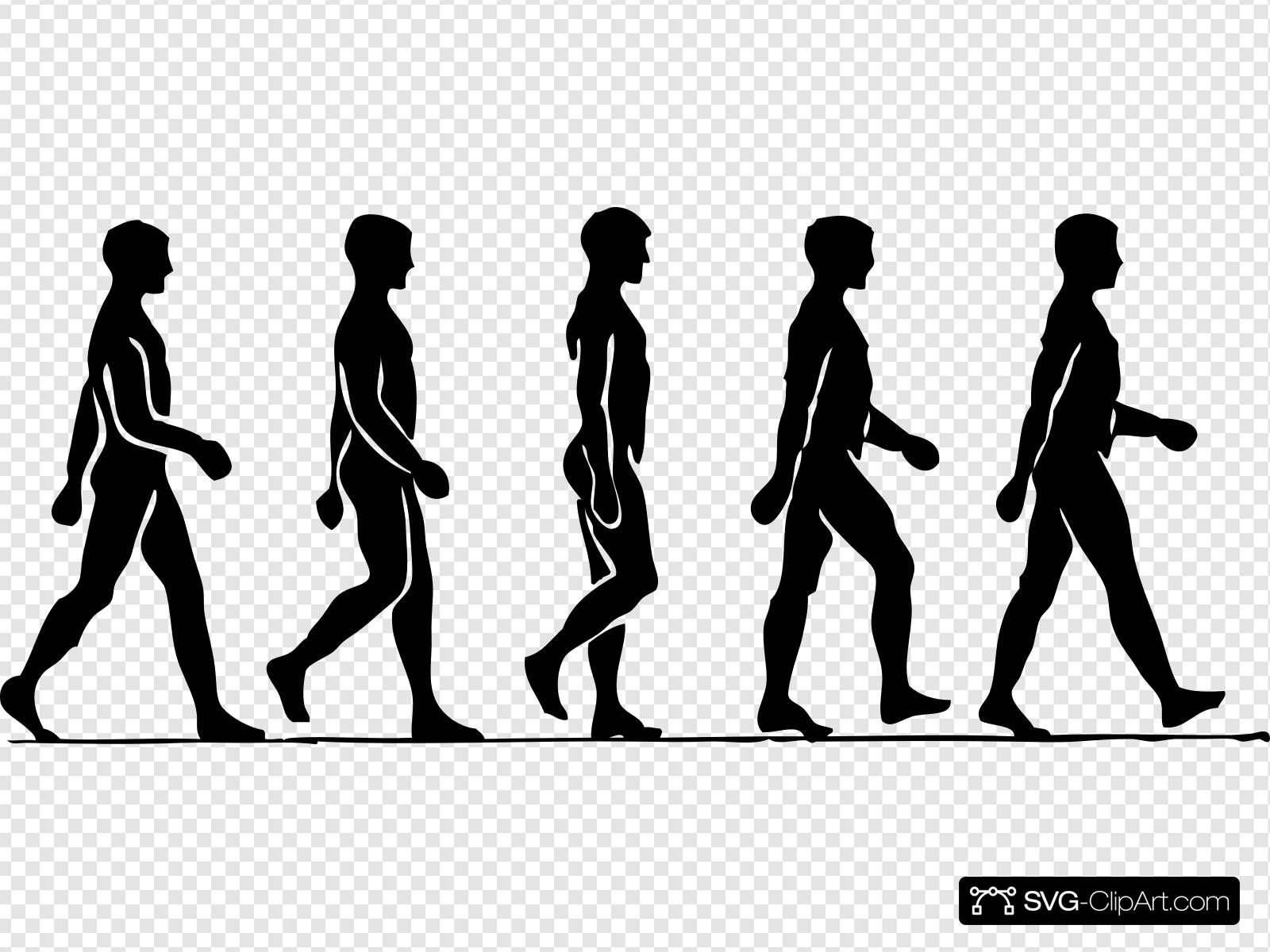 Walking man clipart image banner free library Walking Man Clip art, Icon and SVG - SVG Clipart banner free library