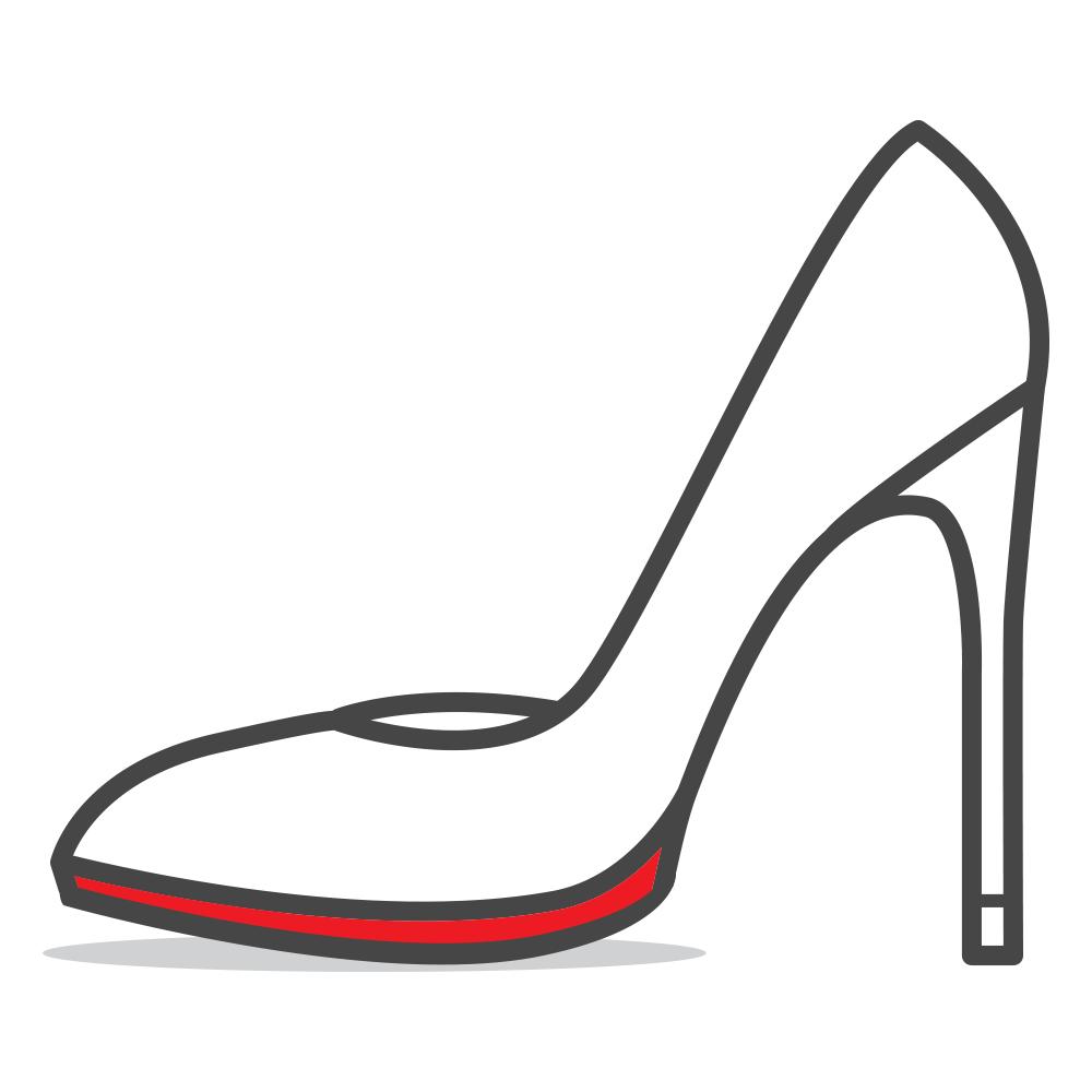 Walking red bottom heels clipart vector download Mister Minit vector download