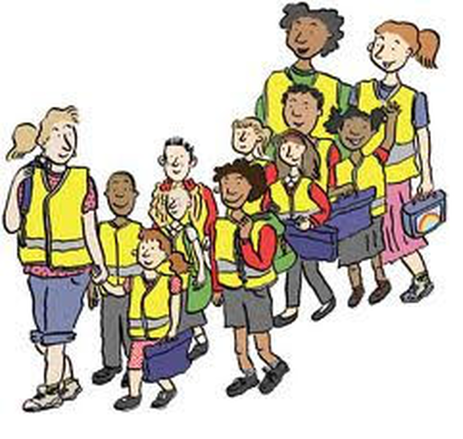 Walking school bus clipart banner stock Group Of People Background clipart - Bus, School, Walking ... banner stock