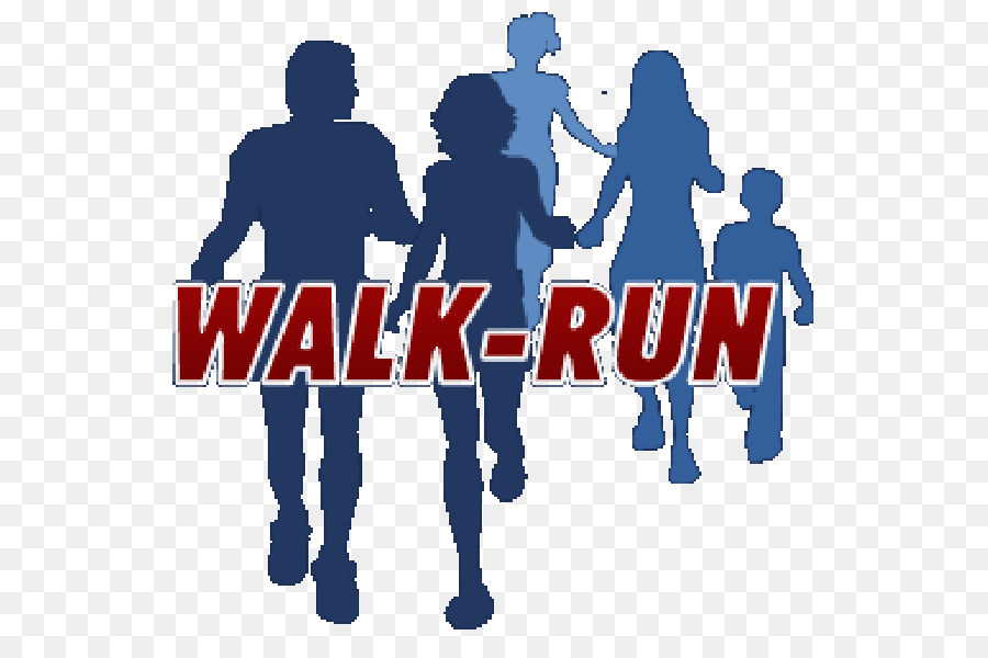 Walking team clipart freeuse library Valentines Day Background clipart - Running, Walking, Blue ... freeuse library