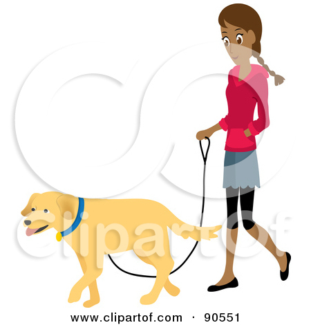 Walking the dog clipart image library Dog Walking Clipart & Dog Walking Clip Art Images - ClipartALL.com image library