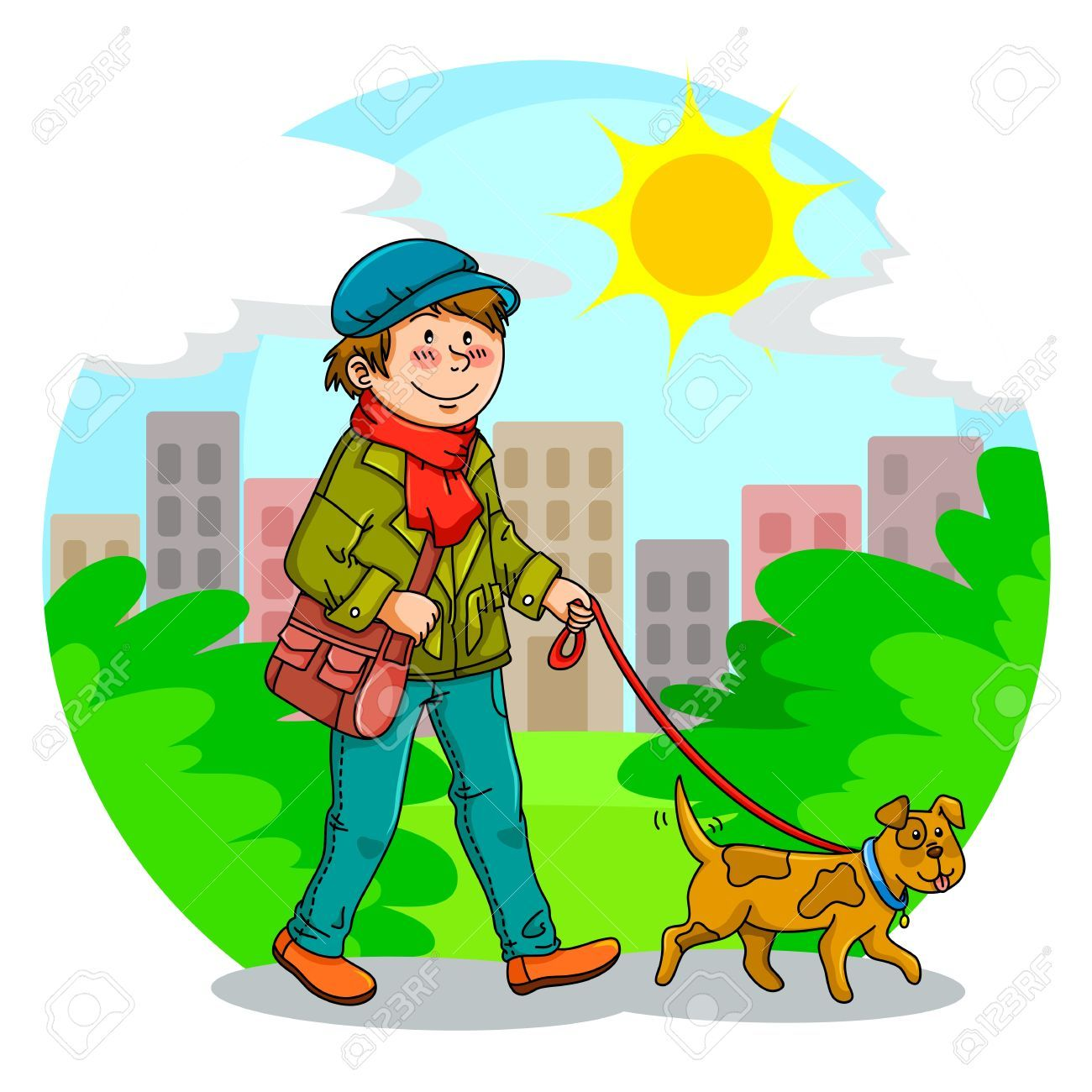 Walking to the park clipart vector black and white library Walking in the park clipart 7 » Clipart Portal vector black and white library