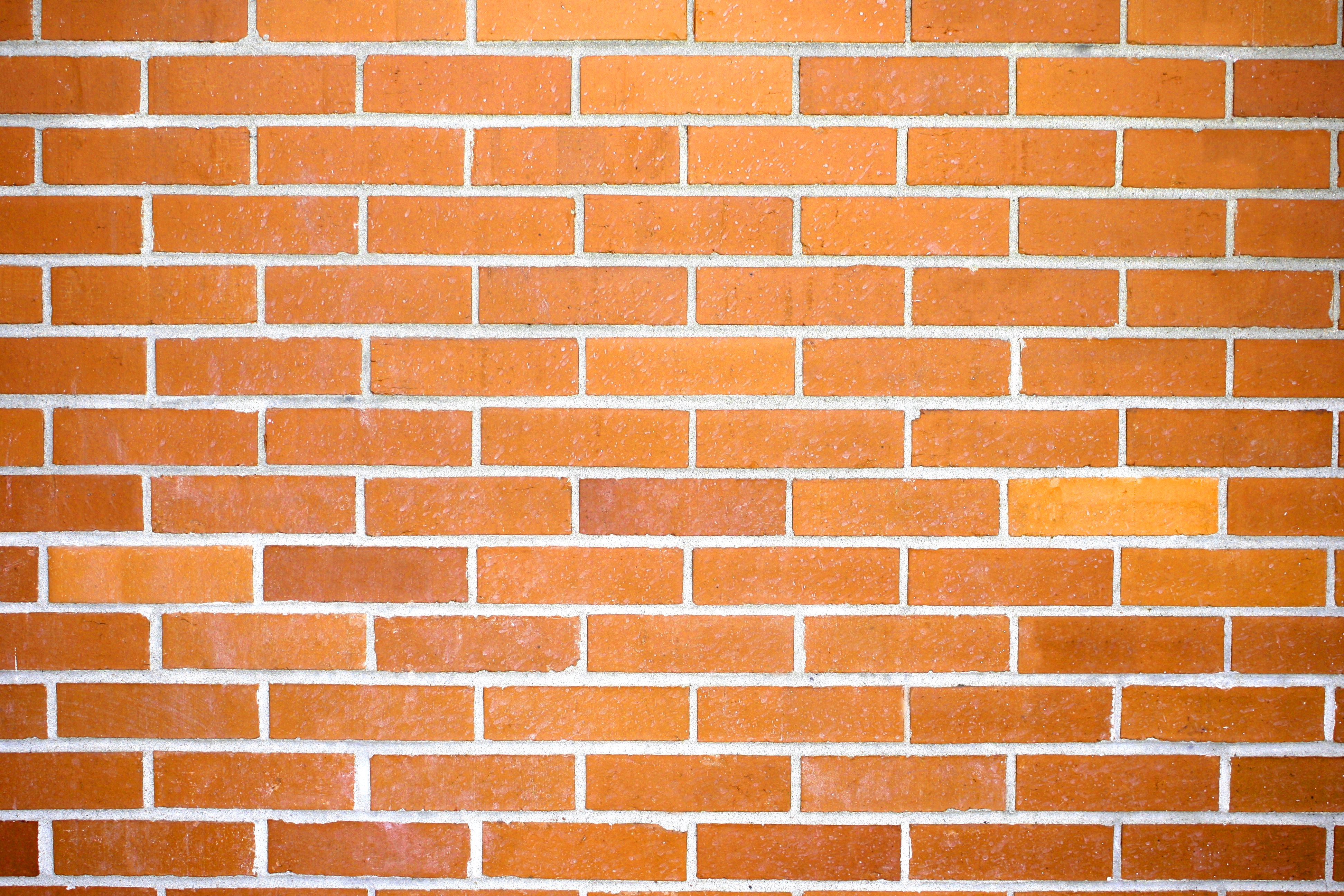 Wall clipart public domain svg library library Orange Brick Wall Texture Picture | Free Photograph | Photos ... svg library library