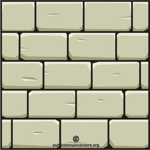 Stone wall pattern clipart banner freeuse Stone wall vector image #publicdomain #vectorgraphics ... banner freeuse