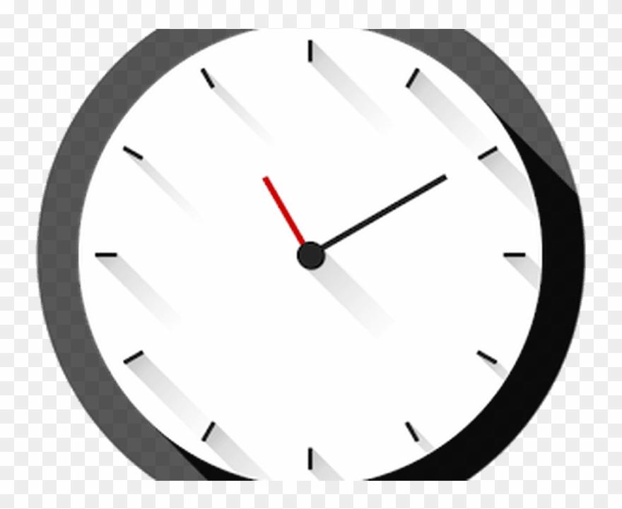 Wall clock clipart clipart transparent download Long Shadows Clock - Wall Clock Clipart (#1829161) - PinClipart clipart transparent download