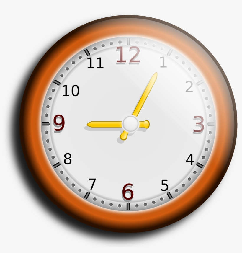Wall clock clipart png jpg library stock Big Image - Wall Clock Clipart Png - Free Transparent PNG ... jpg library stock
