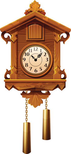 Wall clock with pendulum clipart png freeuse Wall clock with pendulum clipart - ClipartFest png freeuse
