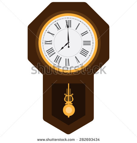 Wall clock with pendulum clipart graphic royalty free download Pendulum Clock Stock Photos, Royalty-Free Images & Vectors ... graphic royalty free download
