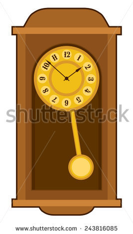 Wall clock with pendulum clipart png transparent Old Wall Clock Stock Images, Royalty-Free Images & Vectors ... png transparent