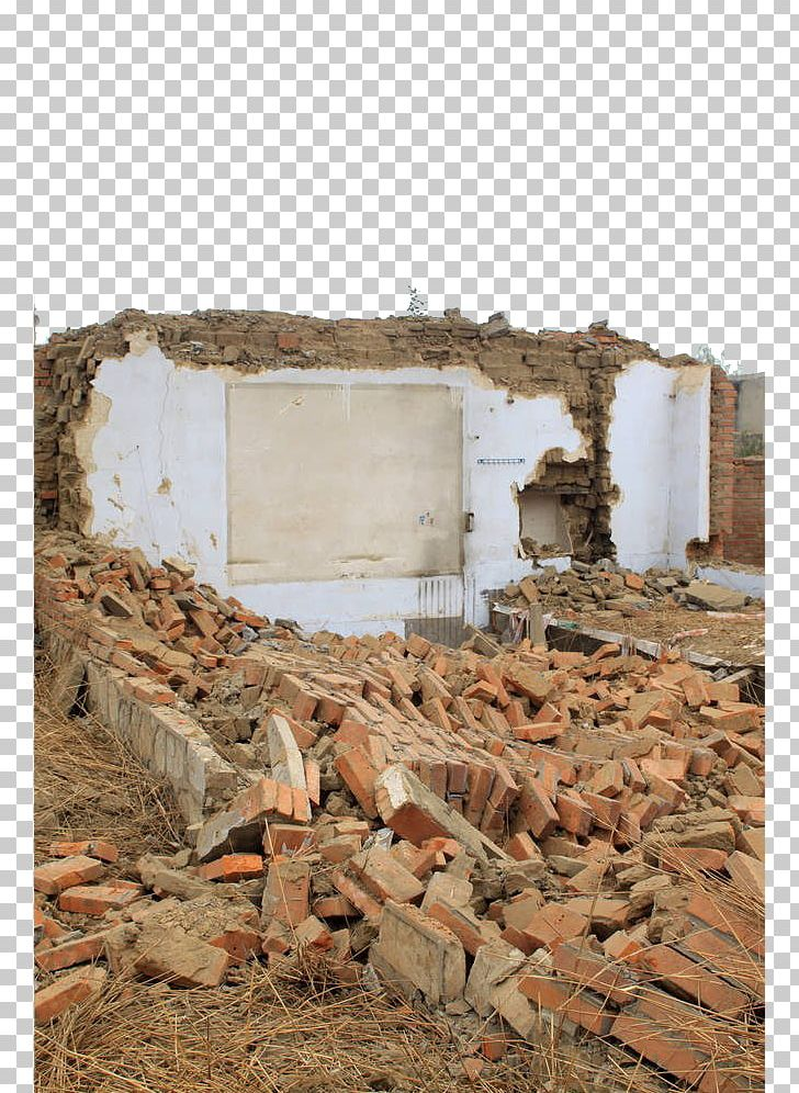Wall demolition clipart clipart transparent download Brick House Ruin Wall PNG, Clipart, Apartment House, Bad ... clipart transparent download
