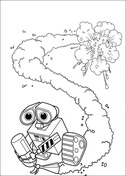 Wall e clipart fire extinguisher clip freeuse download WALL-E coloring pages | Free Coloring Pages clip freeuse download