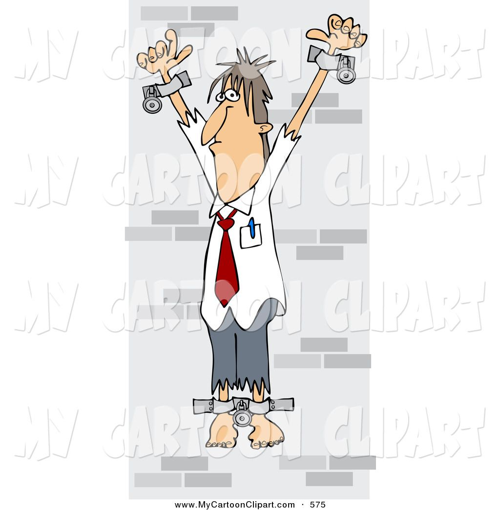 Wall of men clipart png transparent download Clip Art of a Caucasian Business Man Chained Against a Stone ... png transparent download