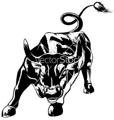 Wall street bull clipart png freeuse download Bull clipart vector, Bull vector Transparent FREE for ... png freeuse download