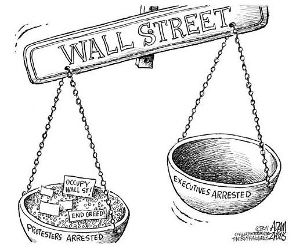 Wall street crash clipart picture black and white 00.02j 12.10.11 Political Cartoons. Occupy Wall Street ... picture black and white