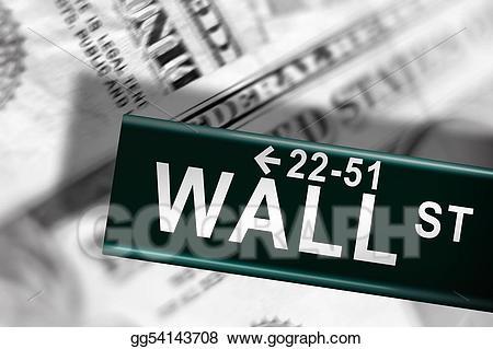 Wall street crash clipart png transparent stock Stock Illustration - Wall street. Clip Art gg54143708 - GoGraph png transparent stock