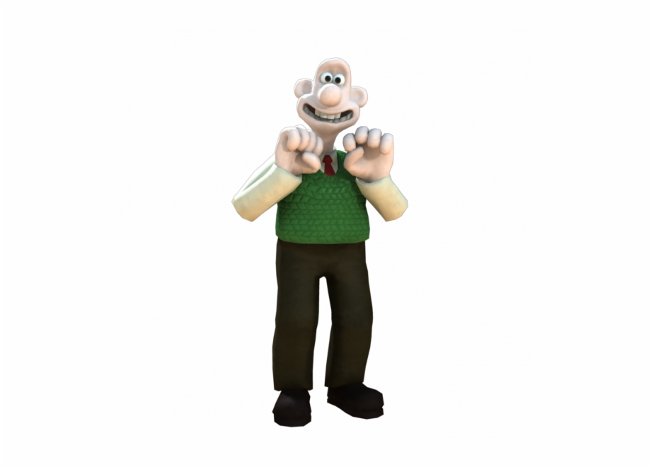 Wallace and gromit clipart clip black and white stock Banned - Wallace And Gromit Wallace Png Free PNG Images ... clip black and white stock