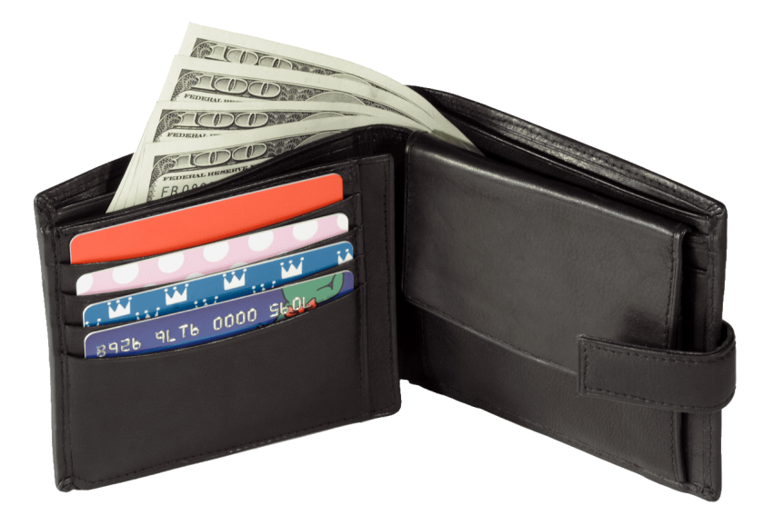 Wallet money clipart picture black and white stock black wallet png - Free PNG Images | TOPpng picture black and white stock