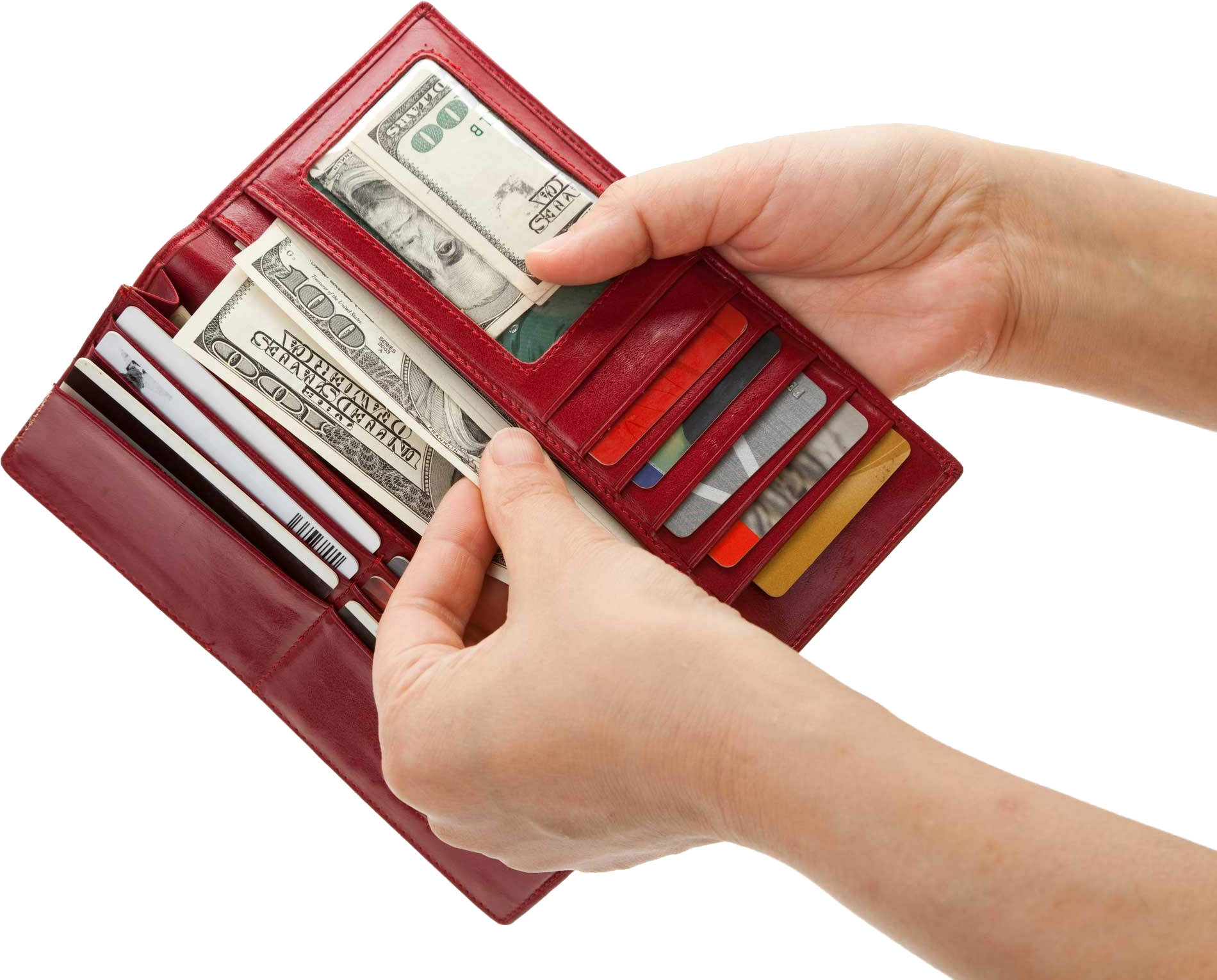 Wallet money clipart graphic freeuse stock Wallet With Money Transparent PNG Pictures - Free Icons and PNG ... graphic freeuse stock