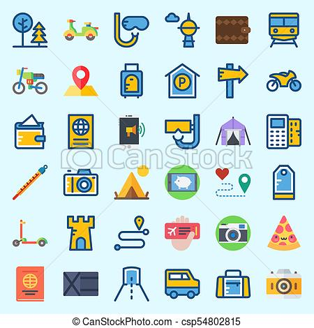 Wallet plane clipart clip art free library Icons about Travel with wallet, plane ticket, tent, location, skyscraper  and scooter clip art free library