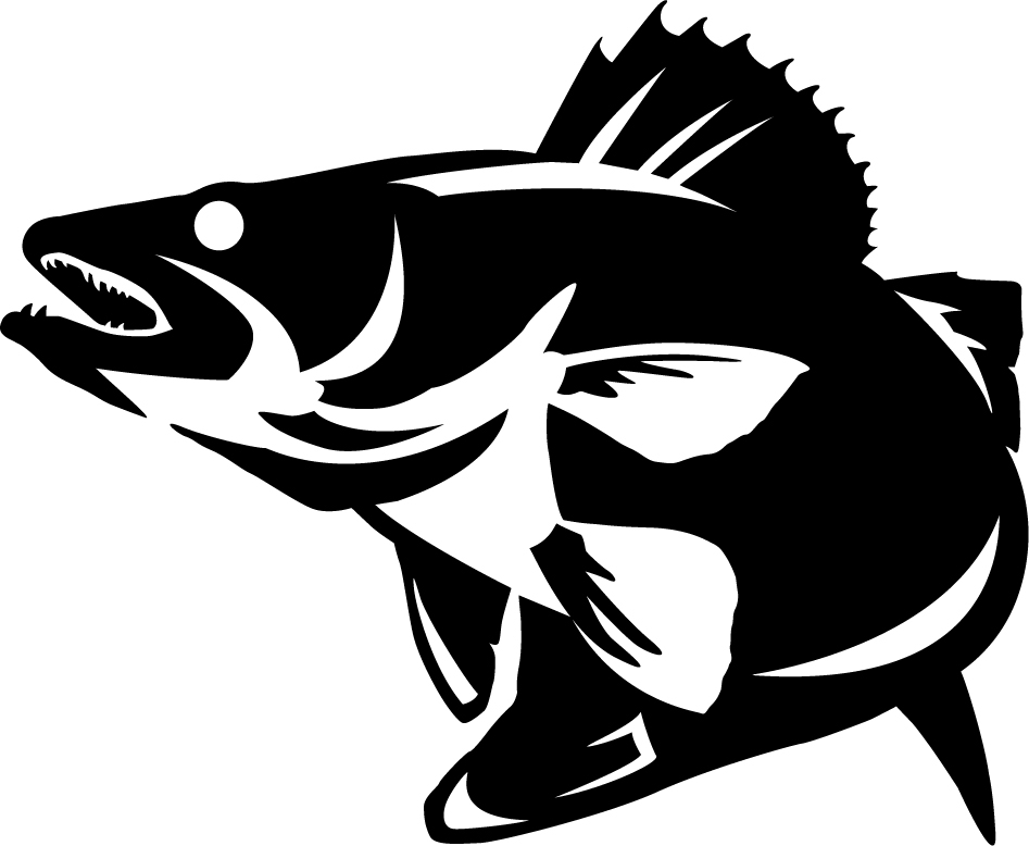 Walleye outline clipart clip free stock Crappie Clipart | Free download best Crappie Clipart on ... clip free stock