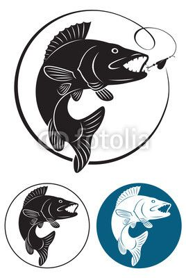 Walleye outline clipart free walleye silhouette - Google Search | Fishing Silhouettes ... free