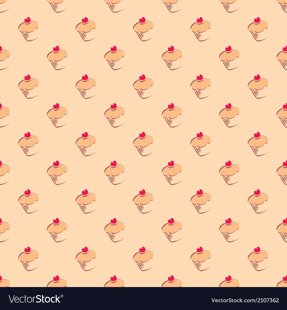 Wallpaper clipart vector png free library Cupcake tile delicious background wallpaper png free library