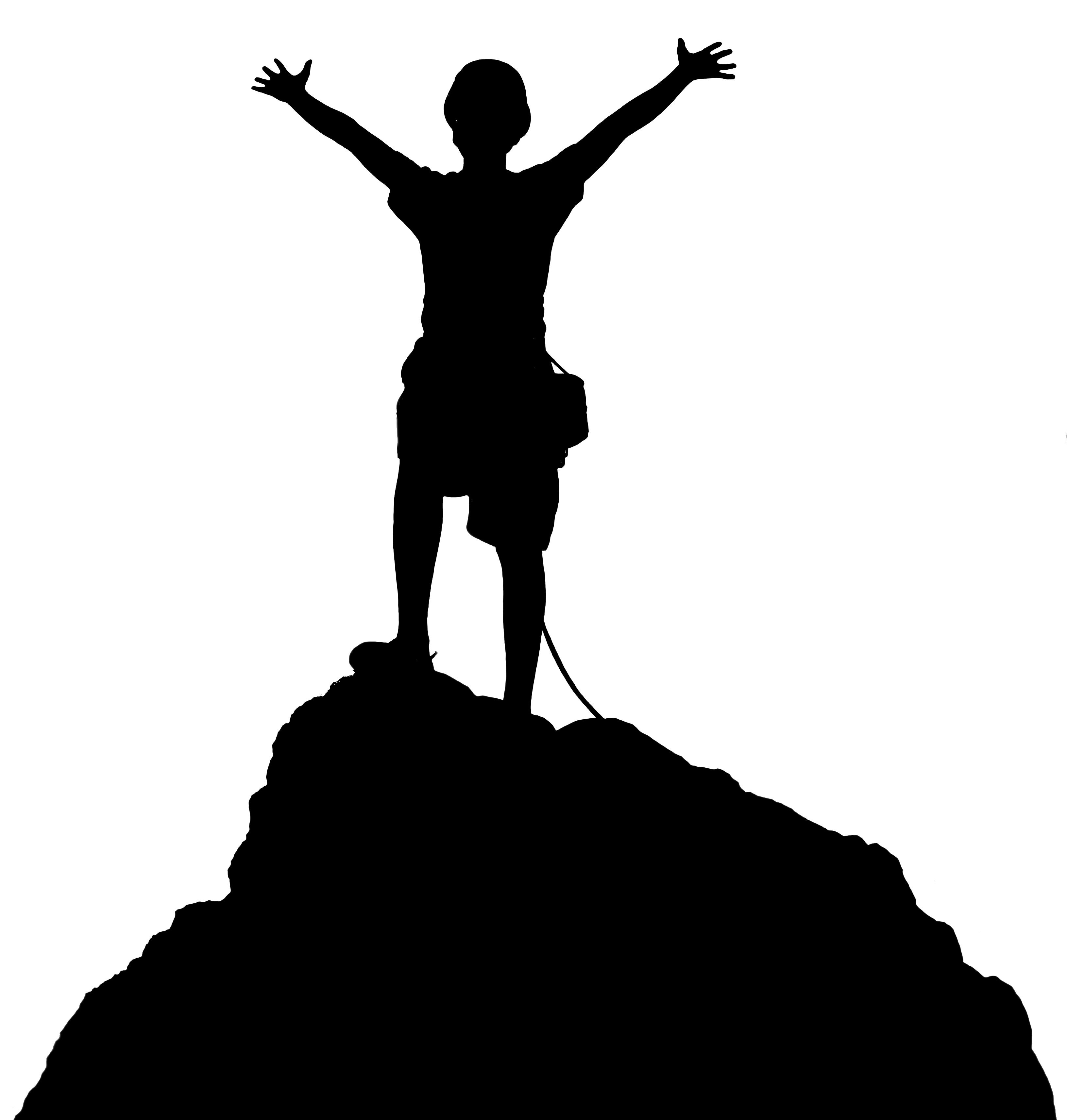 Wallpaper silhouette mountain climber summit free clipart png freeuse stock Mountain Climber Clipart   Free download best Mountain ... png freeuse stock