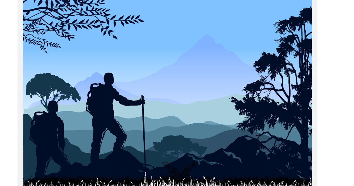 Wallpaper silhouette mountain climber summit free clipart clip freeuse library Mountaineering Backpacking Silhouette - mountain climber png ... clip freeuse library