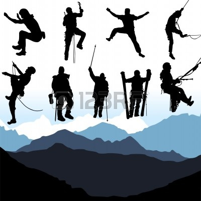 Wallpaper silhouette mountain climber summit free clipart graphic black and white download mountain climber : climbers   Clipart Panda - Free Clipart ... graphic black and white download