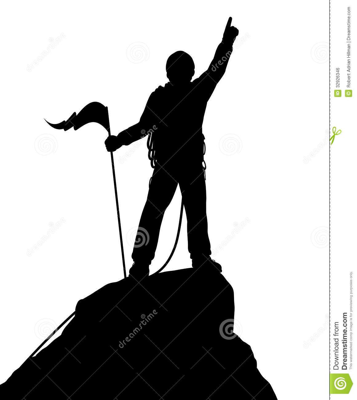 Wallpaper silhouette mountain climber summit free clipart clip royalty free Summit Success - Download From Over 30 Million High Quality ... clip royalty free