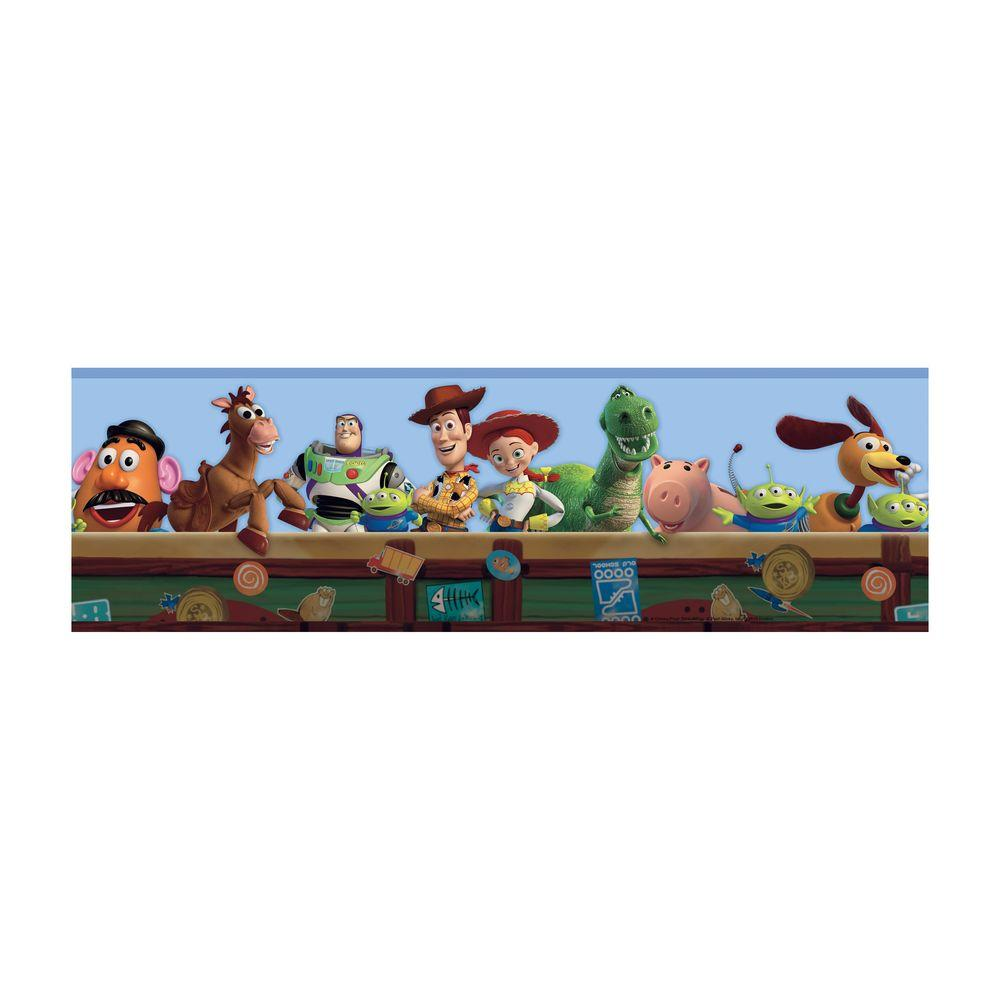 Wallpaper toy story clipart clip free library Disney Kids Toy Story Wallpaper Border clip free library
