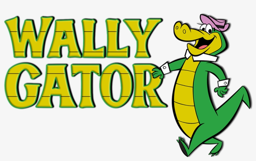 Wally gator clipart image black and white download Wally Gator Image - Wally Gator Logo Png - 1000x562 PNG ... image black and white download